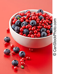 bowl of fresh berries