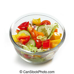 bowl of fresh vegetables