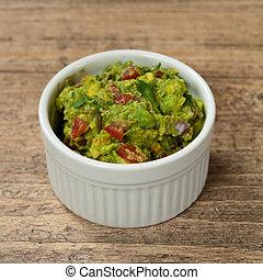 Guacamole - Bowl of Guacamole dip