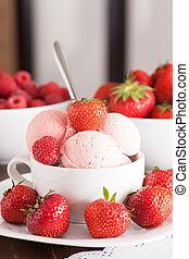 bowl of ice-cream