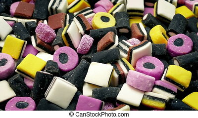 Bowl Of Licorice Candies - Lots of different licorice...