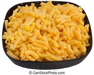 macaroni and cheese - bowl of macaroni and cheese dinner...