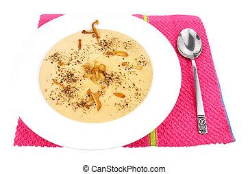 Bowl Of Mushroom Soup
