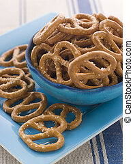Bowl of Pretzels
