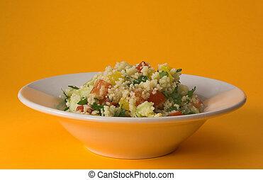 bowl of tabbouleh
