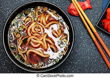 Bowl Udon Soup