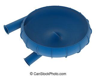 Bowl water slide