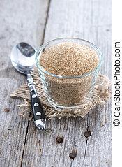 Bowl with Brown Sugar