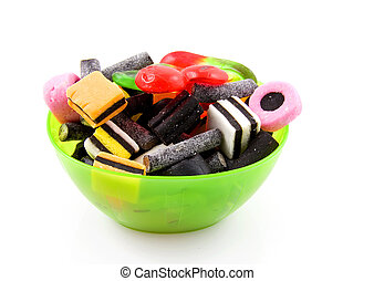 Bowl with candy