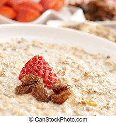 bowl with porridge