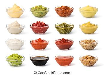 Bowl with sauce set