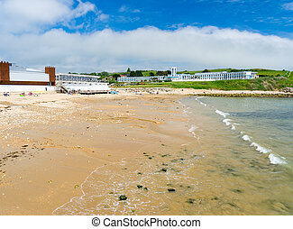 Bowleaze Cove Dorset England UK - The beach at Bowleaze Cove...