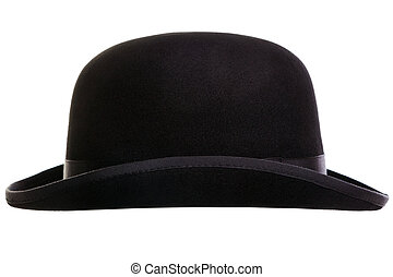 Bowler hat cut out