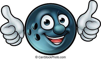 Bowling Ball Mascot