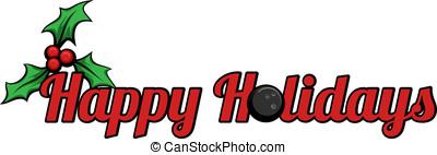Bowling Happy Holidays