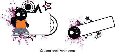 bowling kid cartoon copyspace1