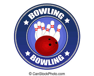 Bowling label