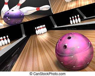 bowling strajk