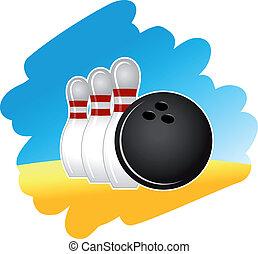 bowling, symbool