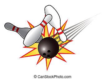 bowling szpilki