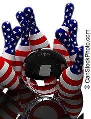 Bowling - the strikes - Bowling glass ball strikes america ...