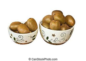 Bowls With Kiwi