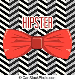 bowtie ribbon hipster style accessory