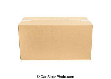 box., קרטון