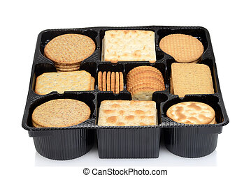 box assorted crackers