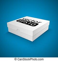 box - Package white box design