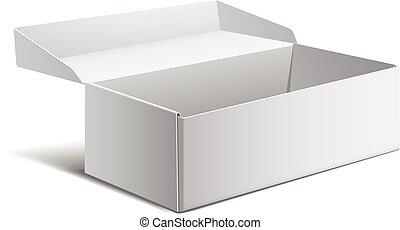 box., device., eletrônico, pacote