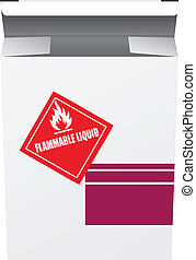 Box for Flammable Liquid