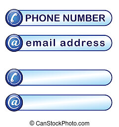 Box for phone and mail address