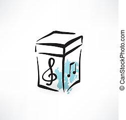 box, Hudba,  grunge, ikona