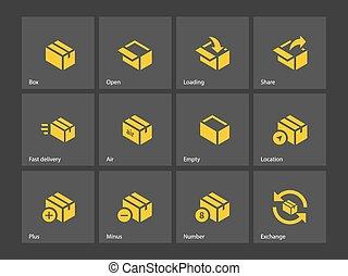 Box icons.