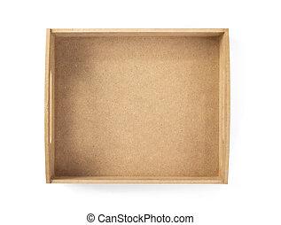 box isolated on white