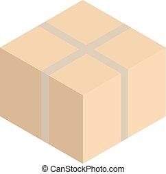 Box isometric icon