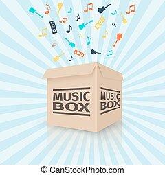 box, Lepenka, Hudba