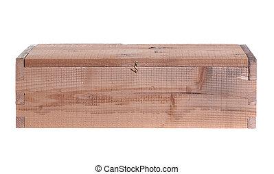 box made of wood
