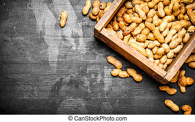 box of peanuts.