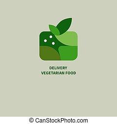 Box of vegan food