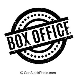 Box Office rubber stamp