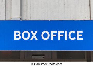 Box Office Sign