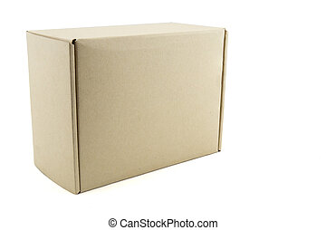 box on white background