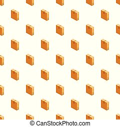 Box pattern seamless vector