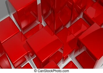 box, rebound, red