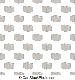 Box seamless pattern
