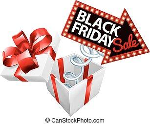 Box Spring Black Friday Sale Sign