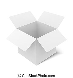 Box vector illustration