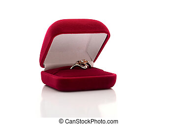 Box with a ring